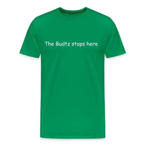 The Budtz stope here - Men's Premium T-Shirt