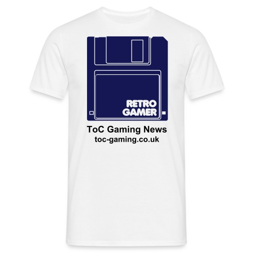 ToC Retro Gamer T-Shirt. Available in a choice of colours. - Men's T-Shirt