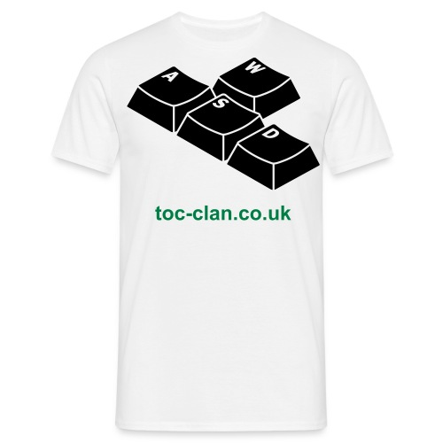 ToC Clan WASD T-Shirt. Available in a choice of colours. - Men's T-Shirt