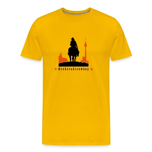 Sport & Freizeit: Großstadtcowboy - Männer Premium T-Shirt