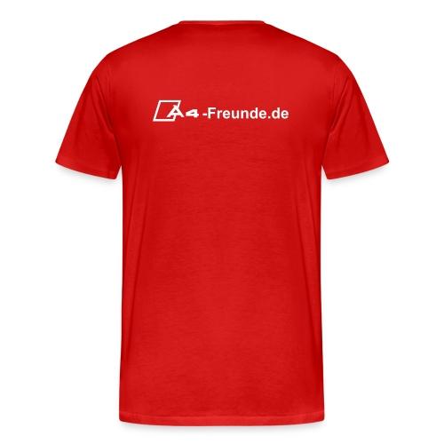 T-Shirt 3XL -rot- - Männer Premium T-Shirt