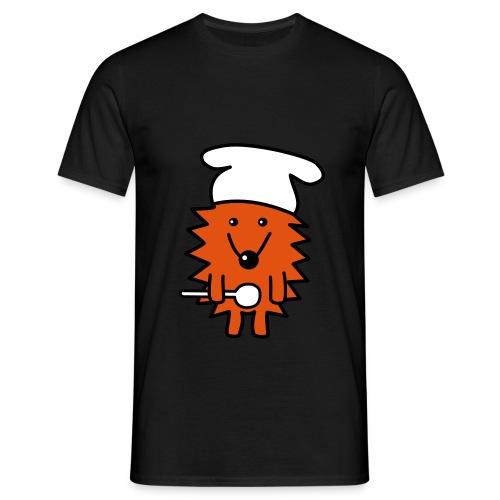 T-Shirt Koch-Igel - Männer T-Shirt
