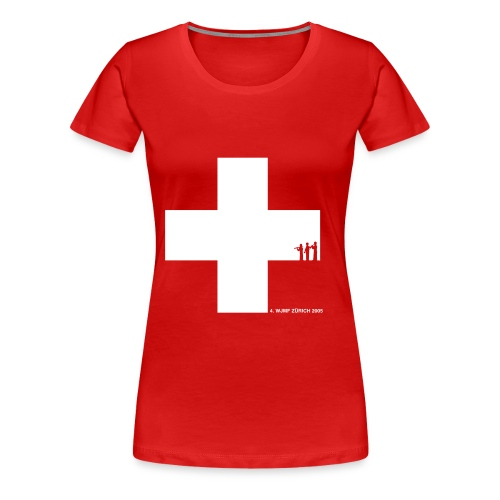 4. WJMF Zürich 2005 - Frauen Premium T-Shirt
