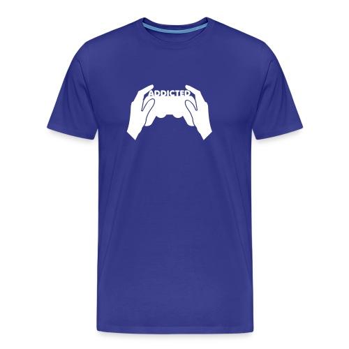 Premium-T-shirt herr - Snygg uppkäftig och helt klart rätt...... RESPEKT !