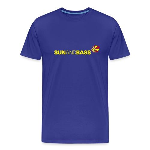 SUNANDBASS light blue - Männer Premium T-Shirt