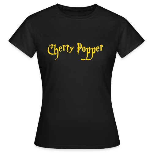 Cherry Popper women's fitted tee - Women's T-Shirt
