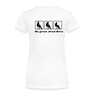 G3 Fitted Girls White - Women's Premium T-Shirt
