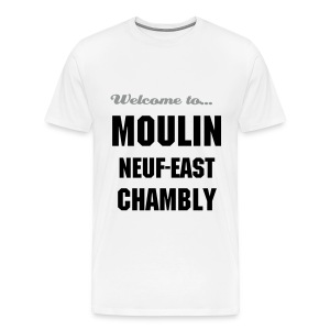CHB Moulin 9 - 3XL - Bicolore - GREY/BLACK - T-shirt Premium Homme