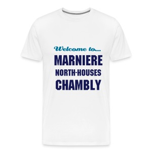 CHB Marniere - 3XL - bicolore - LIGHT/NAVY - T-shirt Premium Homme
