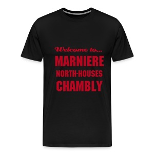 CHB Marniere - 3XL - Black - RED - T-shirt Premium Homme