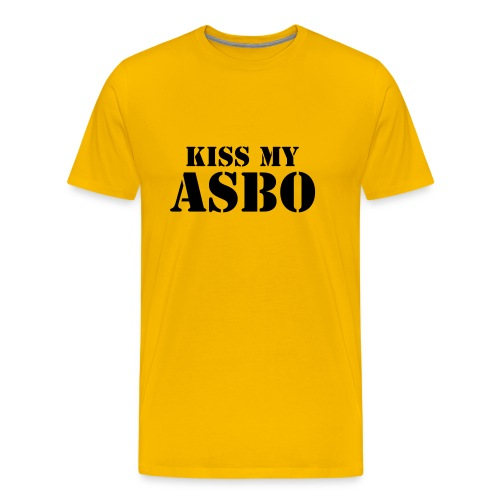ASBO Mens T - Men's Premium T-Shirt