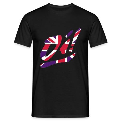 Oi! black - Männer T-Shirt
