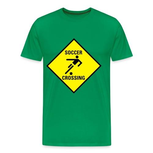 Soccer Crossing - Männer Premium T-Shirt