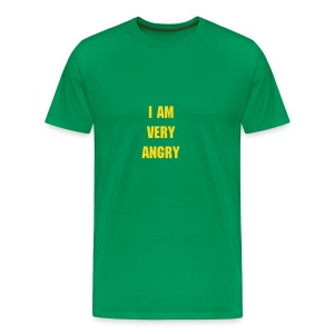 'I Am Very Angry' T-Shirt - Men's Premium T-Shirt