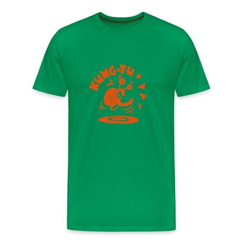 Red Kung-Fu - Männer Premium T-Shirt