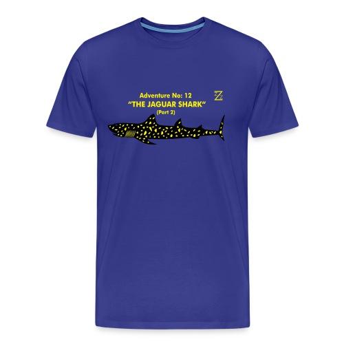 Adventure No.12 The Jaguar Shark - Men's Premium T-Shirt