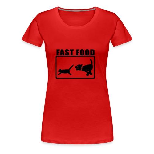 Fast Food Devil - Frauen Premium T-Shirt