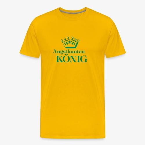 Angstkantenkönig - Männer Premium T-Shirt