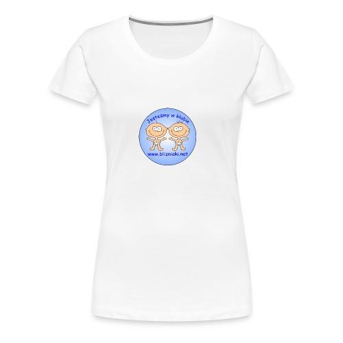 T-shirt damski Jesteśmy w klubie - Koszulka damska Premium