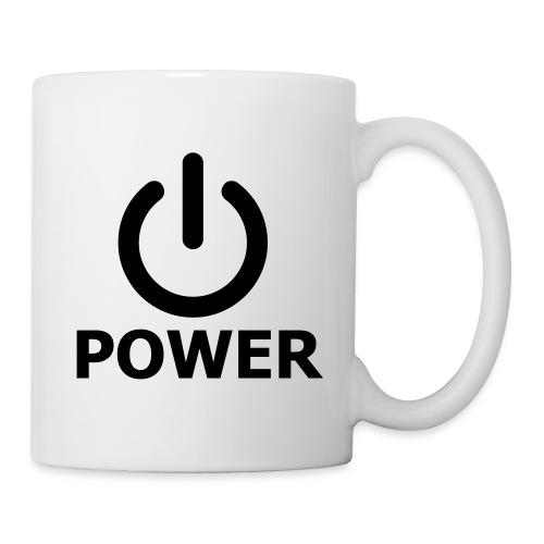 Mug Power - Mug blanc