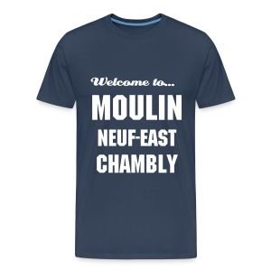 CHB Moulin 9 - 3XL - NAVY - T-shirt Premium Homme