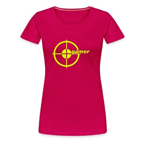 T-shirt Femme Gamers - T-shirt Premium Femme