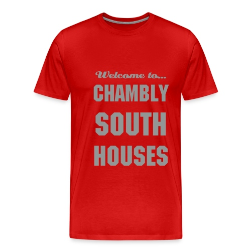 CHB Chambly - 3XL - RED - T-shirt Premium Homme