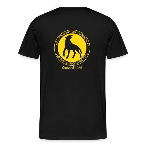 XXXL T WWLC on back - Men's Premium T-Shirt