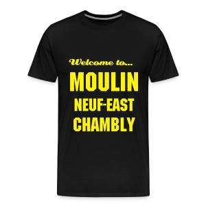 CHB Moulin 9 - 3XL - BLACK - T-shirt Premium Homme