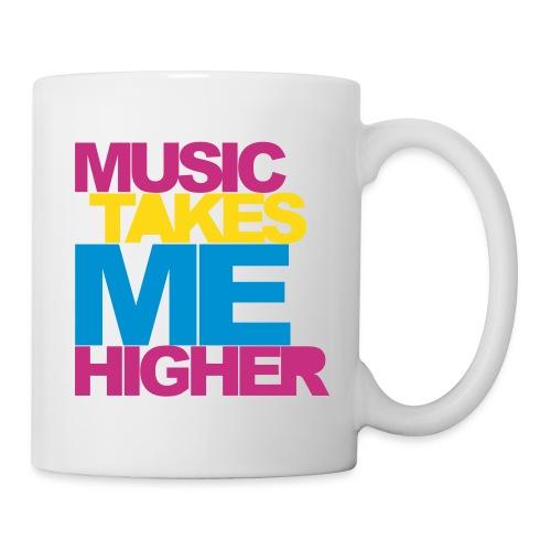 Mug Music Takes Me Higher - Mug blanc