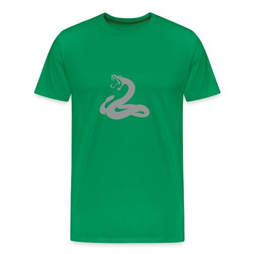SNAKE T-Shirt Grün - Männer Premium T-Shirt
