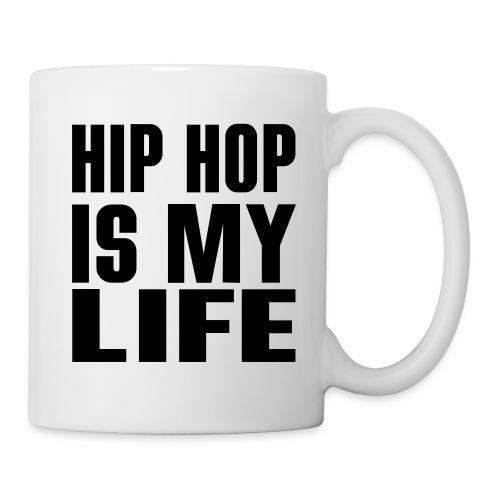 Mug Hip Hop Is My Life - Mug blanc