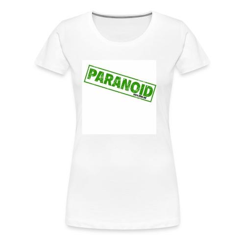 Paranoid Ladies T - Women's Premium T-Shirt