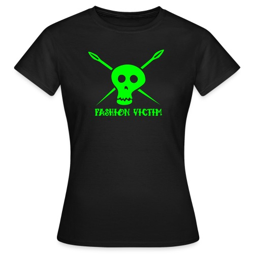 fashion victim Shirt :: Girls - Frauen T-Shirt