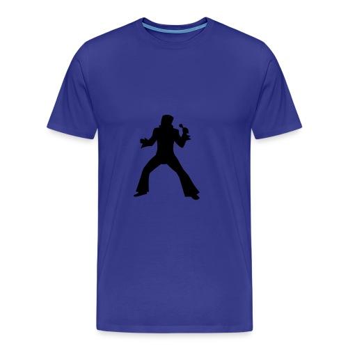 Elvis Silhouette T-Shirt - Men's Premium T-Shirt
