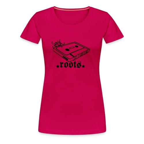 roots Shirt :: Girls - Frauen Premium T-Shirt