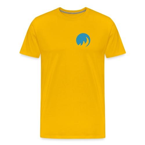 BLue FLame shirT geLb - Männer Premium T-Shirt