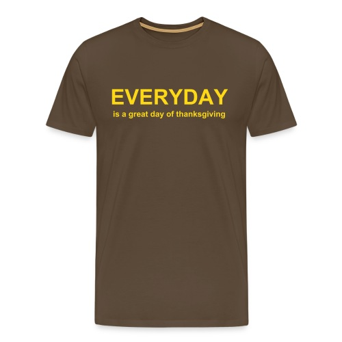 Everyday-Shirt - Männer Premium T-Shirt