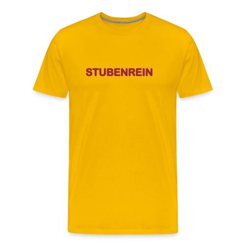 stubenrein - Männer Premium T-Shirt
