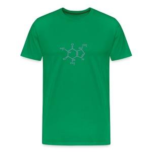 cafeína cinza - Men's Premium T-Shirt