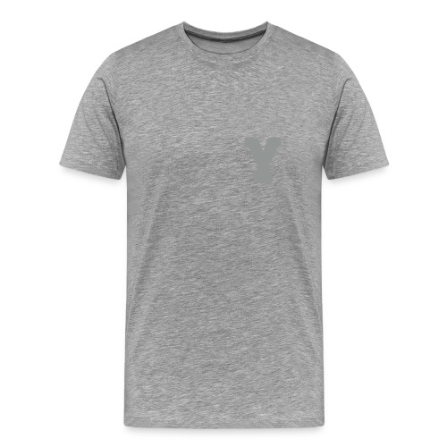 Alphabet Y - Men's Premium T-Shirt