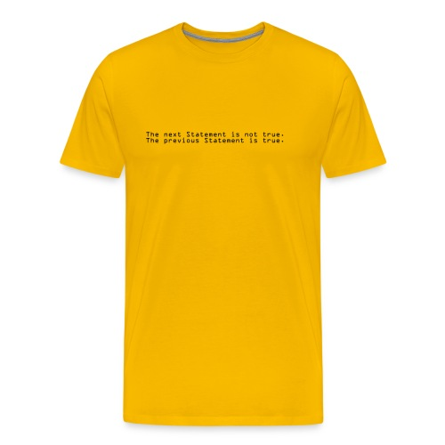 statement - Männer Premium T-Shirt
