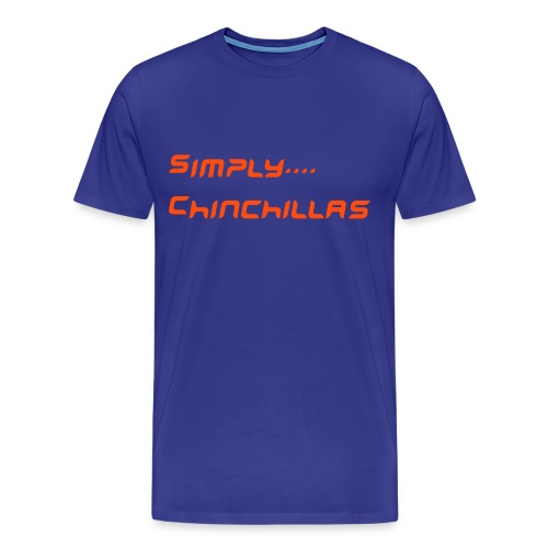 Simply... Chinchillas - Männer Premium T-Shirt
