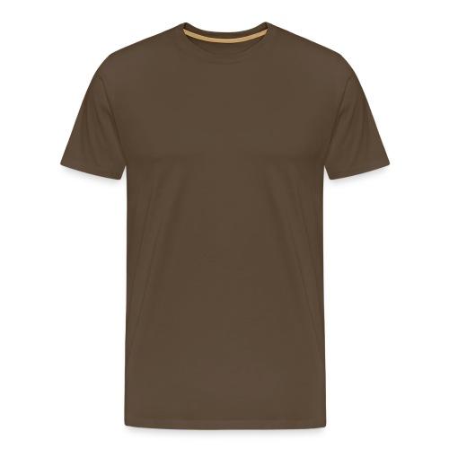 Männer Premium T-Shirt - braun