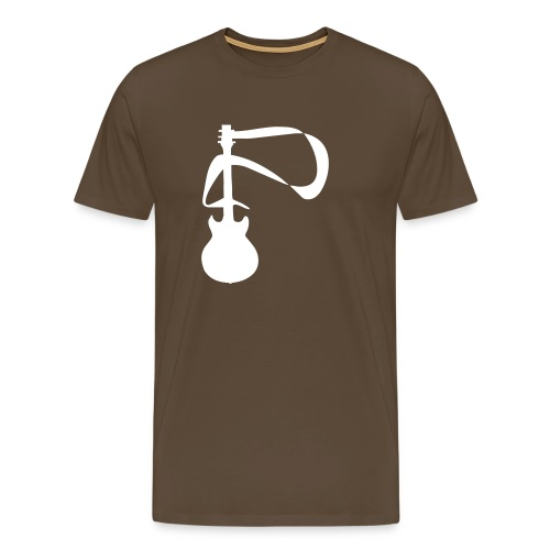 Guitar Design 1 - Men's Premium T-Shirt