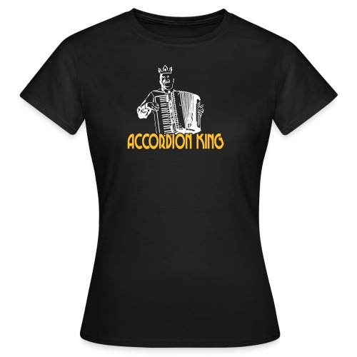 Accordion King - Women's T-Shirt