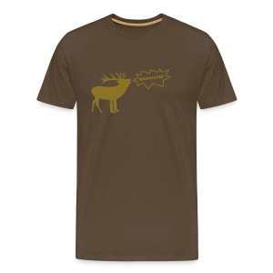 Golden Hirsch Shirt :: Men - Männer Premium T-Shirt