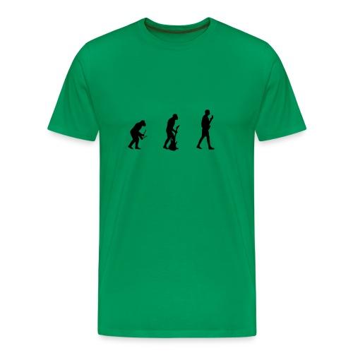 Evoluutio - Miesten premium t-paita