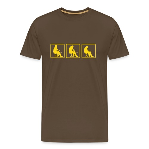 god of percussion - Men's Premium T-Shirt