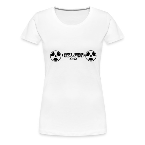 Radio active Woman's T - Women's Premium T-Shirt